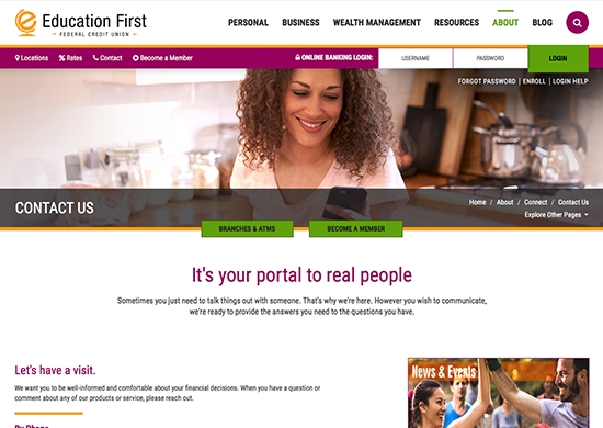 Bank Services in Beaumont, TX | Education First Federal