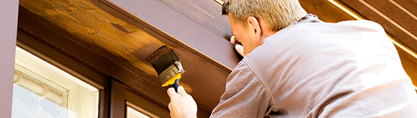 Man fixing home with home equity loan
