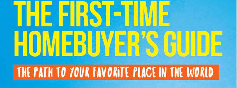 First time homebuyer's ebook