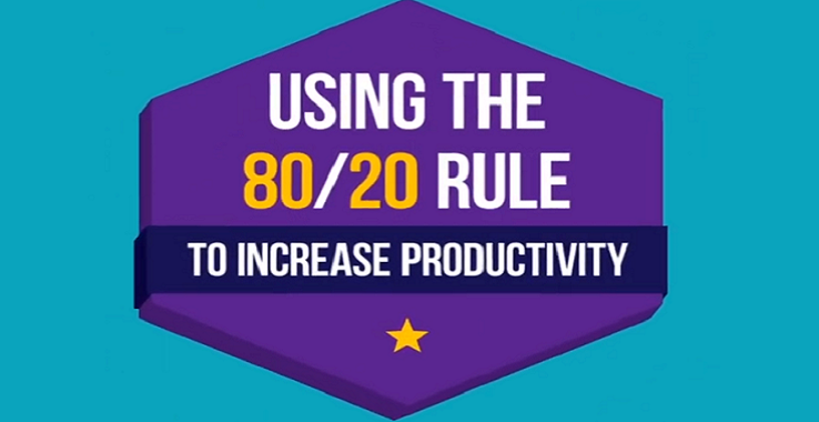 Using the 80/20 Rule to Increase Productivity