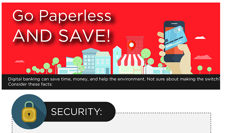 Go Paperless and Save!